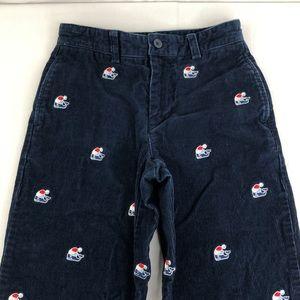 Vineyard Vines Children's Navy Corduroy Pants 8